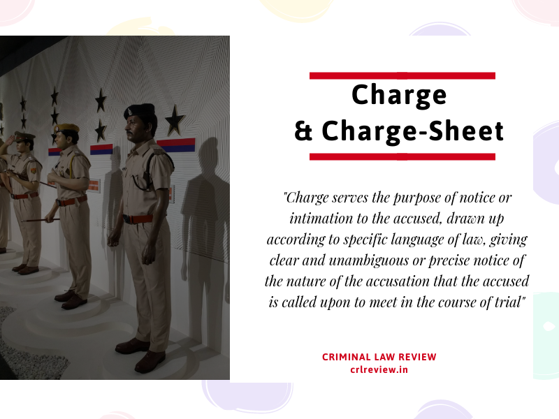 Charge and Charge-Sheet